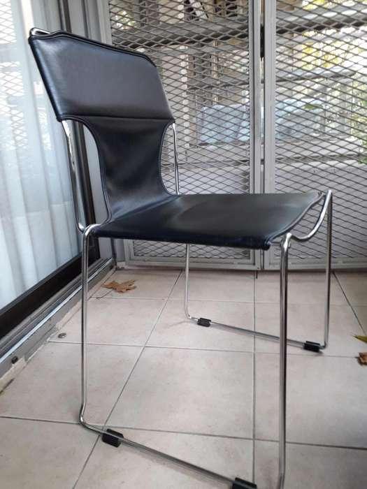 Juego de 4 sillas y 2 sillones cabeceros