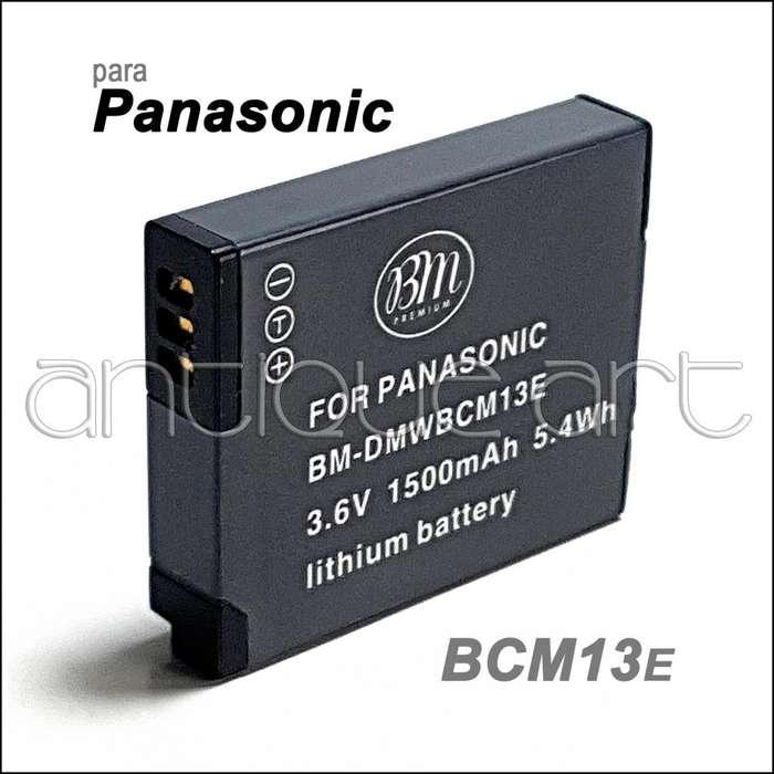 A64 Bateria Bcm13e Para Panasonic Lumix Dmc-tz37 Tz55 Lz40