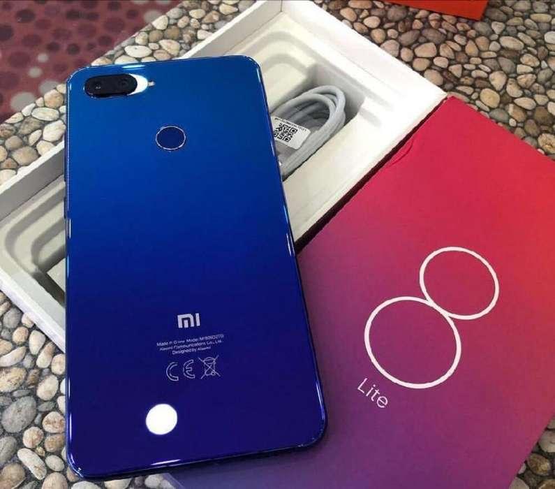 Xiaomi Mi 8 Lite 128gb Azul Nuevos Sellados Garantía
