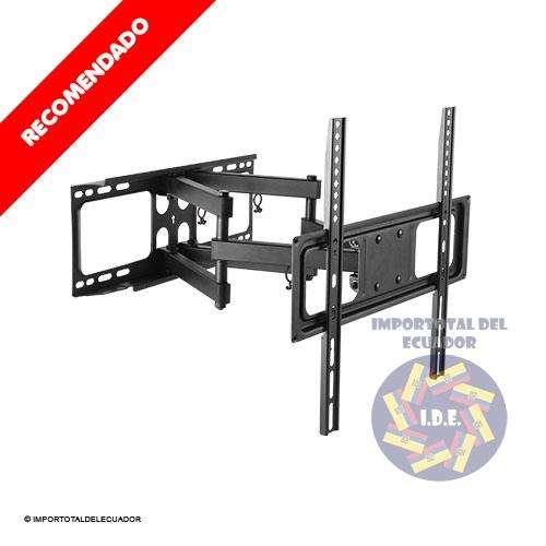 Soporte de pared brazo doble ''nuevo'' tv plana o curved de 32 a 55 pulgadas / Resiste hasta 88 libras