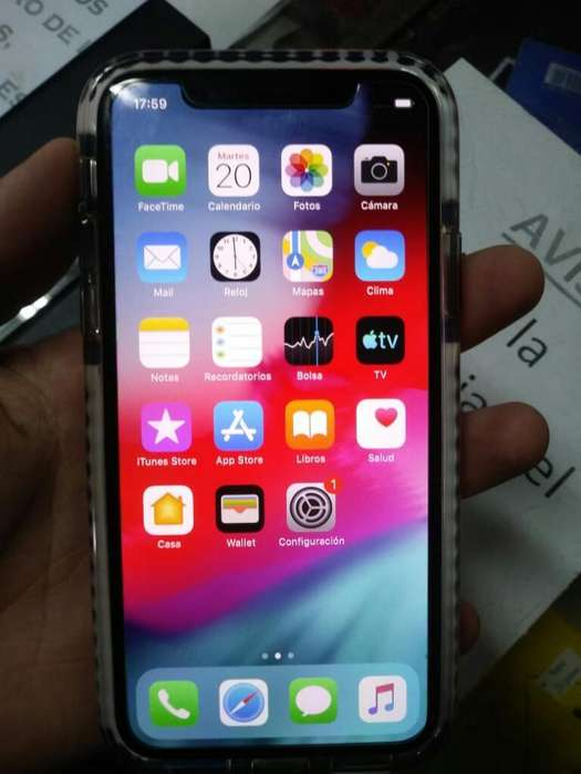 iPhone X 64gb Se Va Ya Ya 33mil Libre