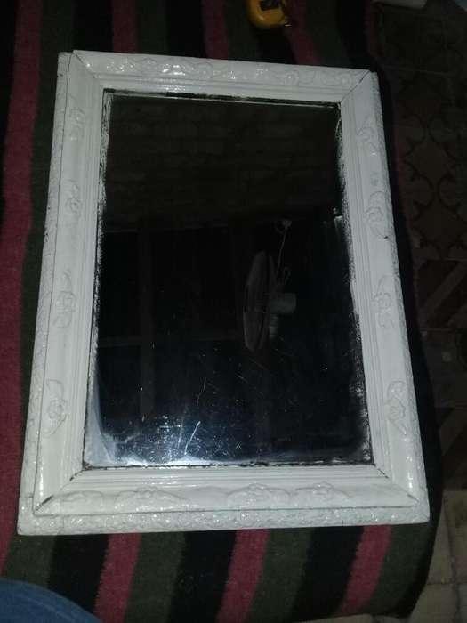Espejo Antiguo de 80x60