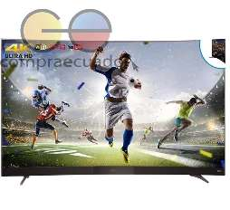 TCL <strong>televisor</strong> curvo Led 55 Smart TV linux Tv 4k Ultra Hd 50