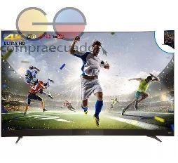 TCL Televisor curvo Led 55 Smart TV linux Tv 4k Ultra Hd 50