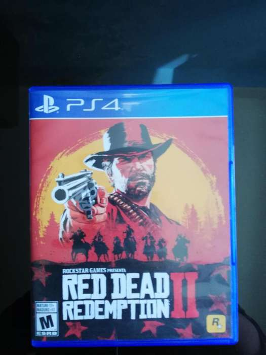 JUEGOS PS4 RED DEAD REDEMPTION II
