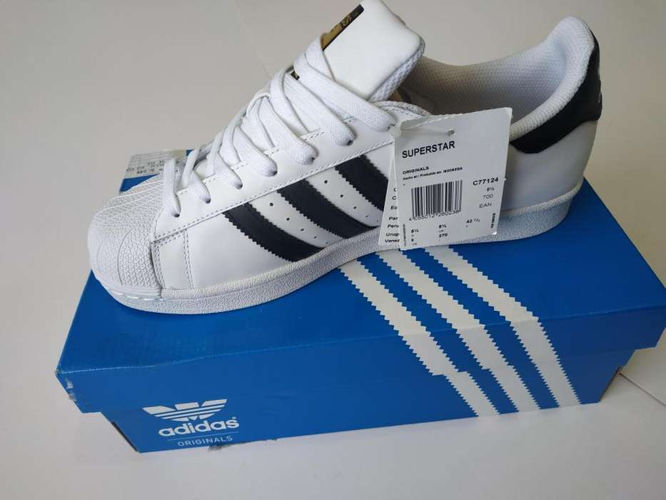 7e112bb7f Talla 41.5 Zapatilla Adidas  strong superstar  strong  Original
