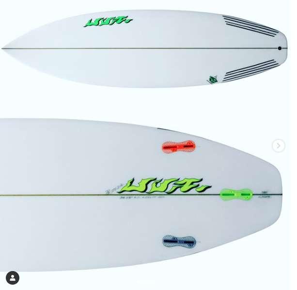 Tabla de surf UVA Surfboards Mod. CARRASCO SKATE Fabrica de Tablas a medida y en stock.