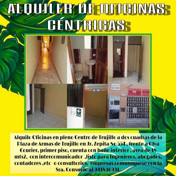 OFICINAS CENTRICAS TRUJILLO 2CDRAS PLAZA DE ARMAS