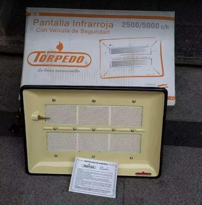 Estufa Pantalla 2500/5000kcal