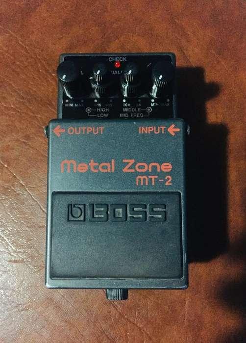 Pedal Analogo Boss Metal Zone Mt - 2