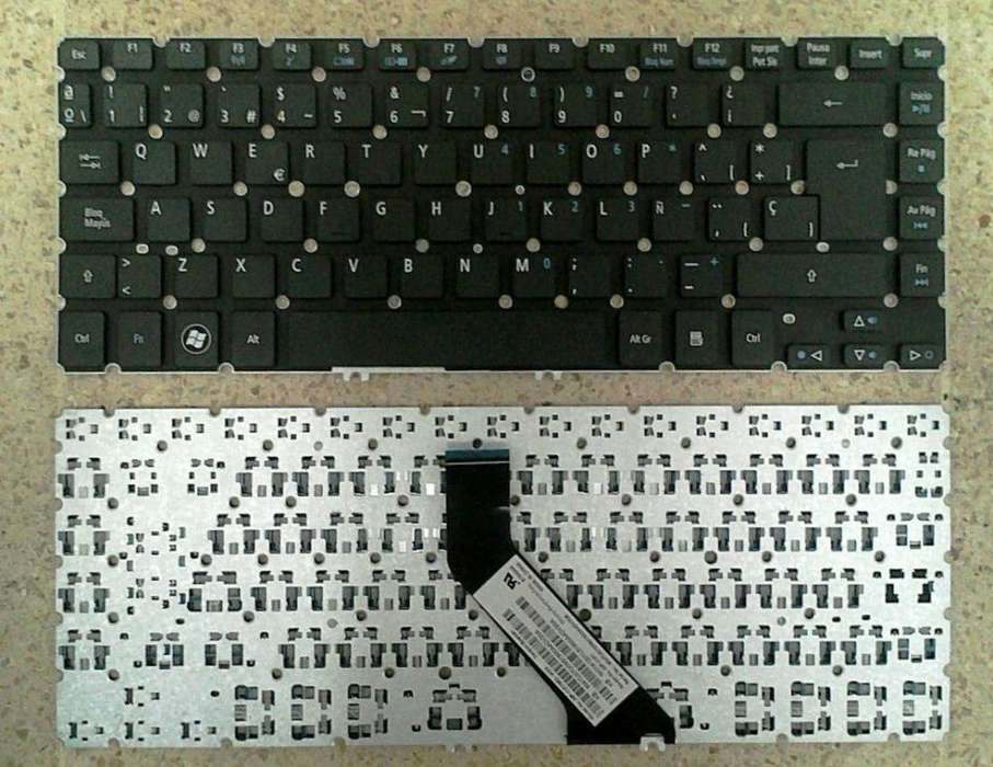Teclado Laptop Acer One Mini V5 471 V5 431 Para 11.6 Pulgadas