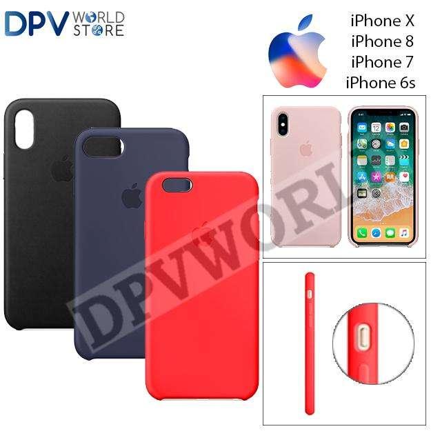 Estuche Silicona Iphone X Iphone 8 Iphone 7 Iphone 6s Flexible
