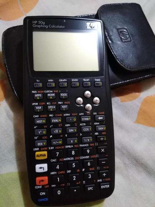 <strong>calculadora</strong> grafica HP 50G con forro