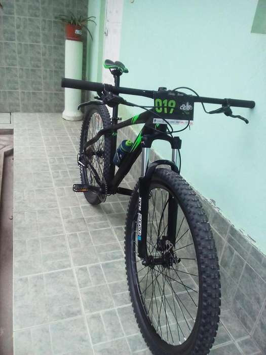 Bike gw er 29 seminueva 4meses ultra ligera mtb monoplato
