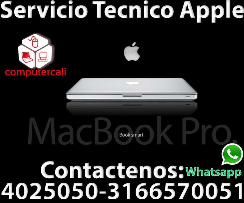 Reparación de computadores Apple en Cali Tel: 4025050 3166570051 whatsapp