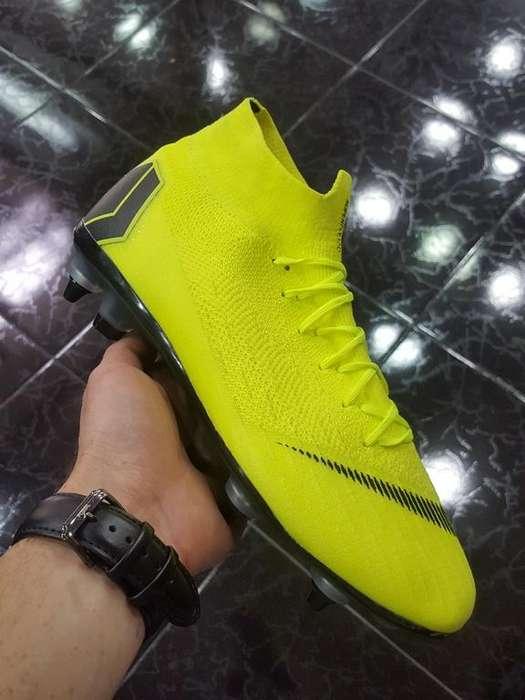 Guayos Nike Superfly Tache Aluminio
