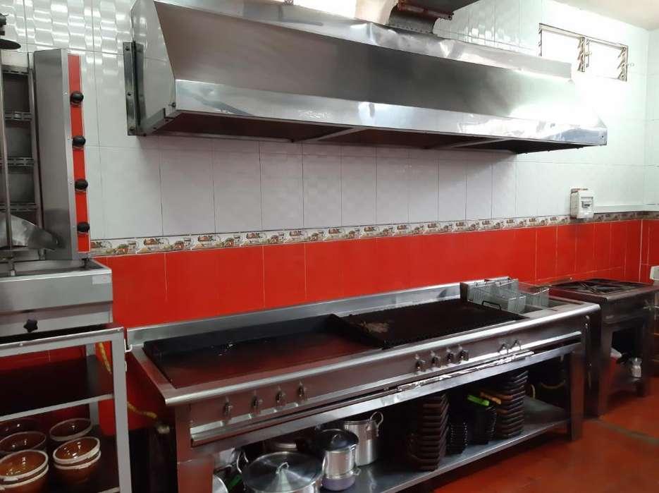 Vendo Estufa Industrial con Campana