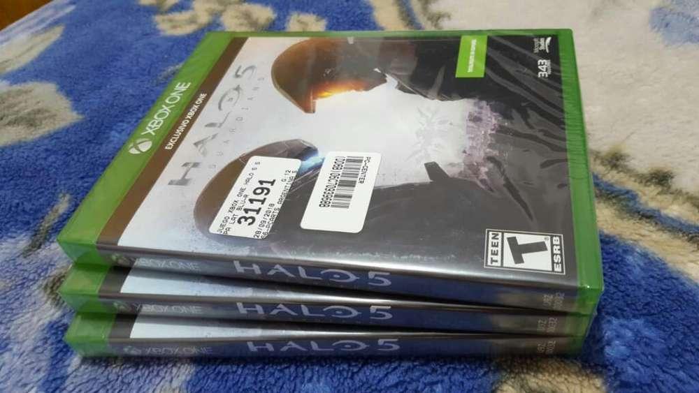 Halo 5 Sellados