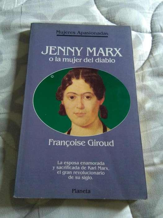 JENNY MARX O LA MUJER DEL DIABLO . FRANCOISE GIROUD . LIBRO PLANETA SERIE MUJERES APASIONADAS