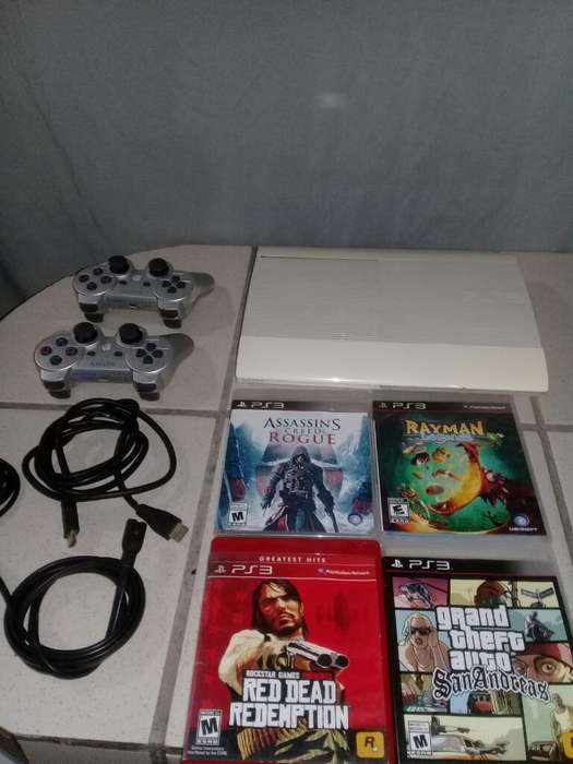 Vendo Ps3 Super Slim Original 500 Gb