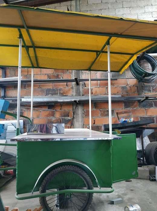 triciclo para venta de comida