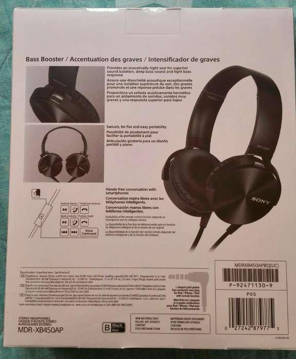 Audifonos Sony Extrabass Originales