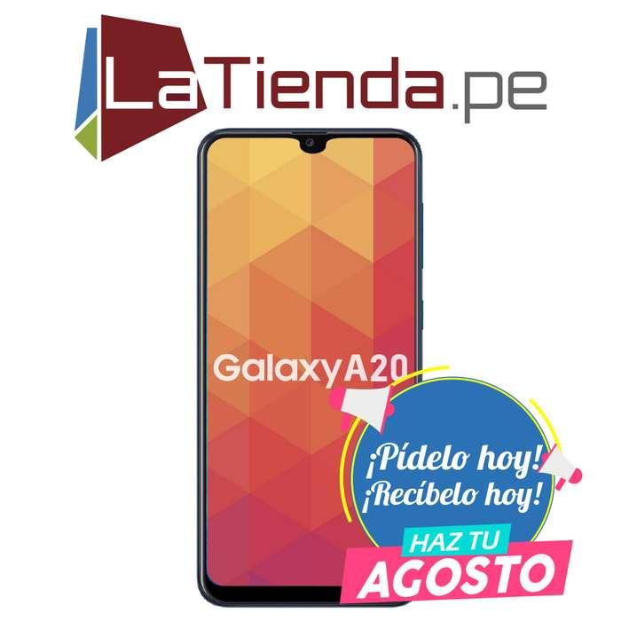 Samsung Galaxy A20 pantalla Infinity-V HD