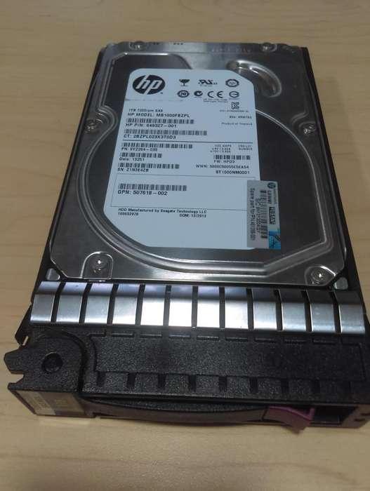 DISCO DURO HP 1TB SERVIDOR HP PORLIANT ML350 G5 (461289-001 ; 375874-022)