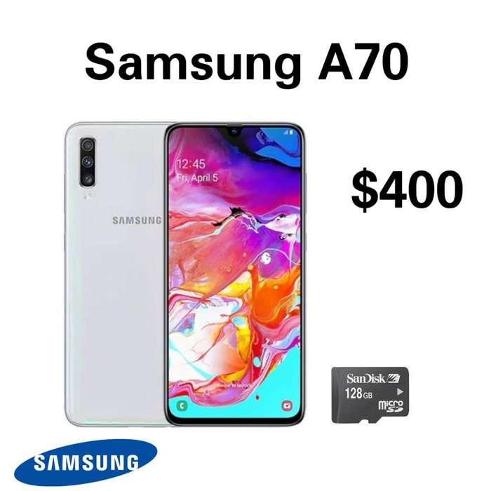 Samsung A70 Nuevo Original con Garantía
