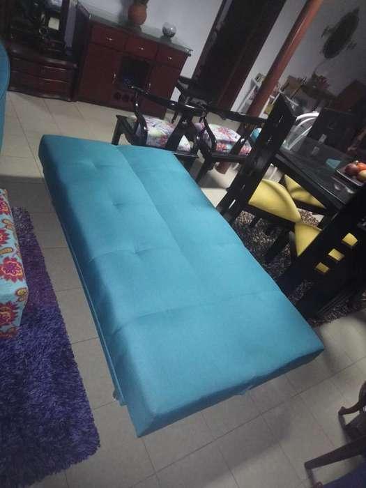 Sofa Cama Recien Tapizado