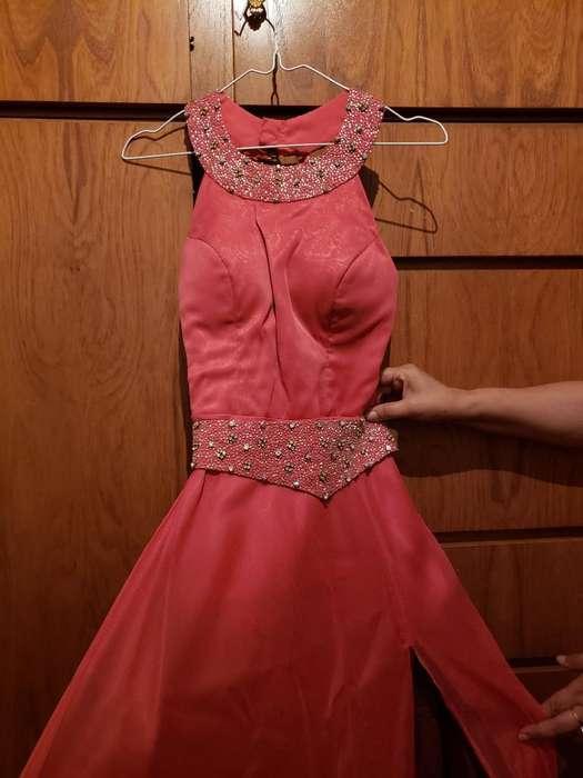 <strong>vestido</strong> de Fiesta. Talle S