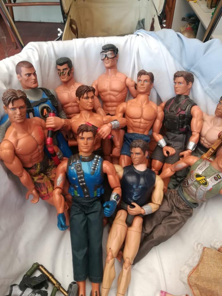 Muñecos Antiguos Barbie Y Max Steel