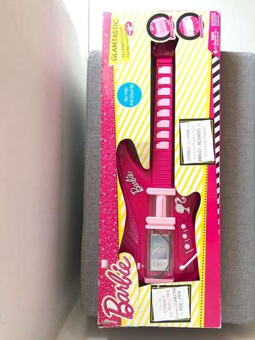 Guitarra Electrica Barbie Nueva