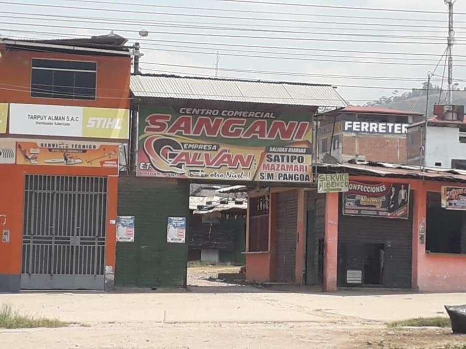 REMATO CENTRO COMERCIAL EN SANGANI - PERENÉ, CHANCHAMAYO