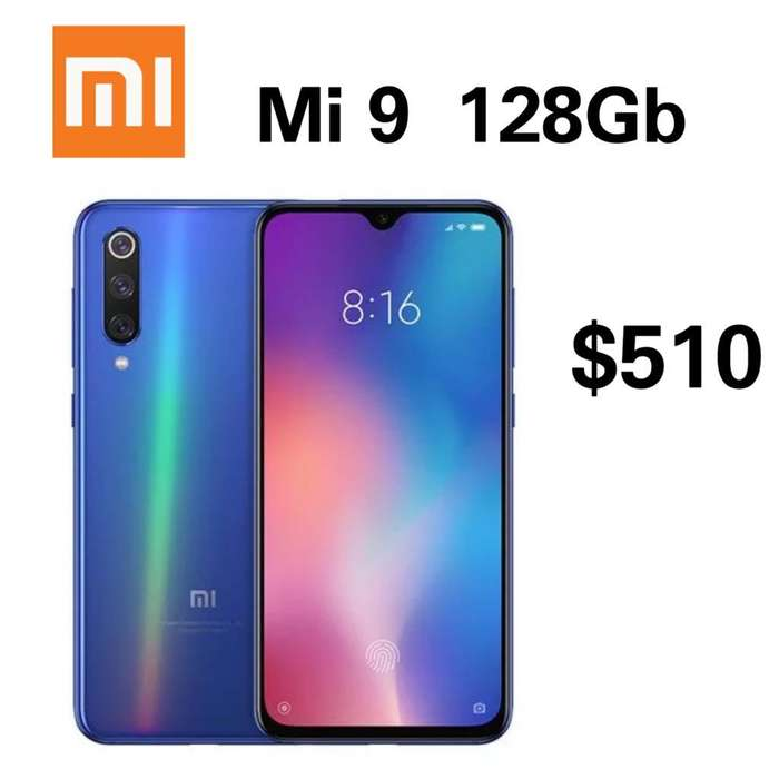 Xiaomi Mi 9 128gb 6 Ram