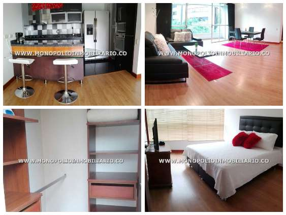 rento apartamento amoblado en medellin cod: 14247