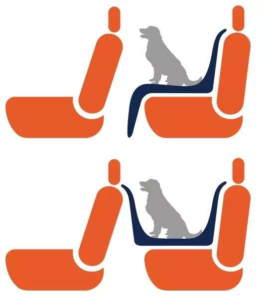 Funda Cubre Asientos para Mascotas