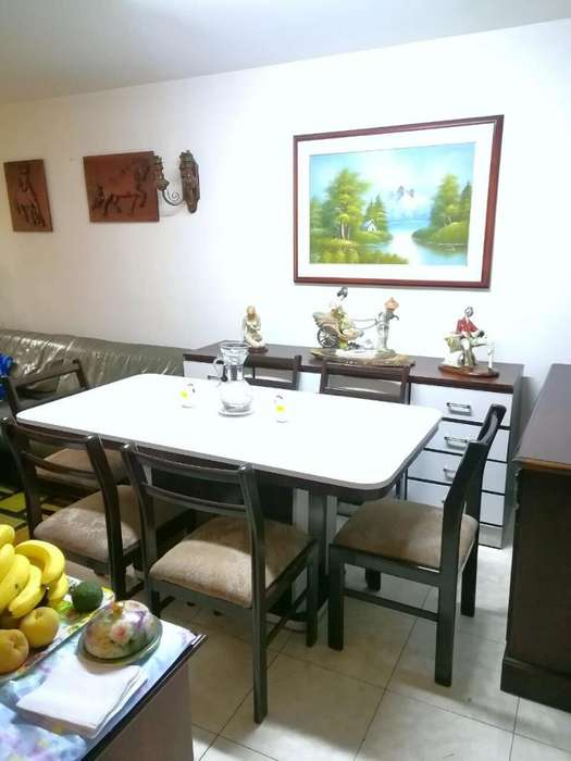 Mueble Mesa Comedor Silla Ganga