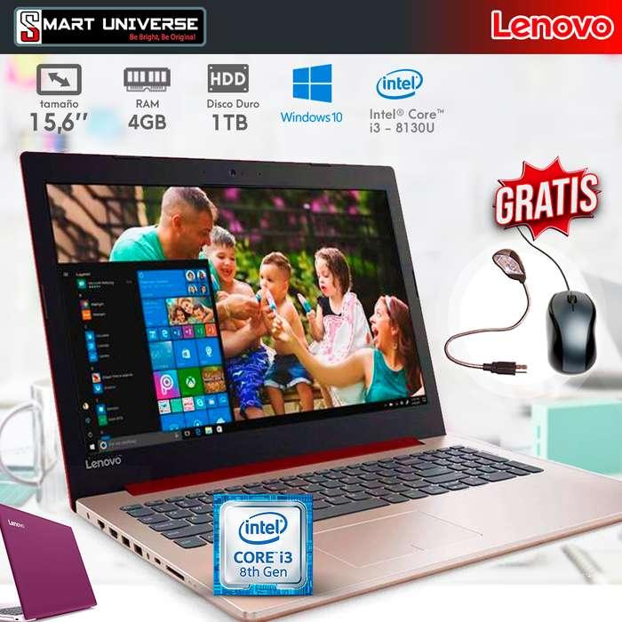 Laptop Lenovo 330s I3 8va Gen-15,6 Pulg-Win10-1tb Selladas Garantía FACTURA