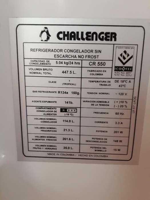 Venta Nevera Challenger No Frost 19 Ft