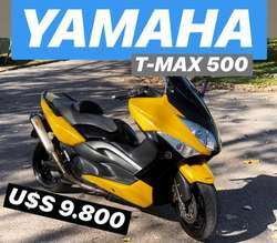 SCOOTER YAMAHA TMAX 500 // 2008 // TOMO  MOTO / AUTO / CUATRI
