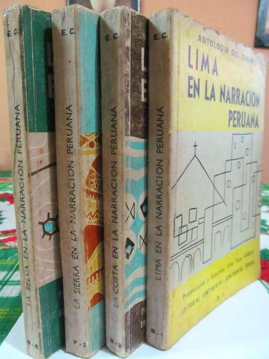 Lima, La Costa, La Sierra y La Selva en la Narración Peruana. Antología del Cuento. Editorial Universo. 1967