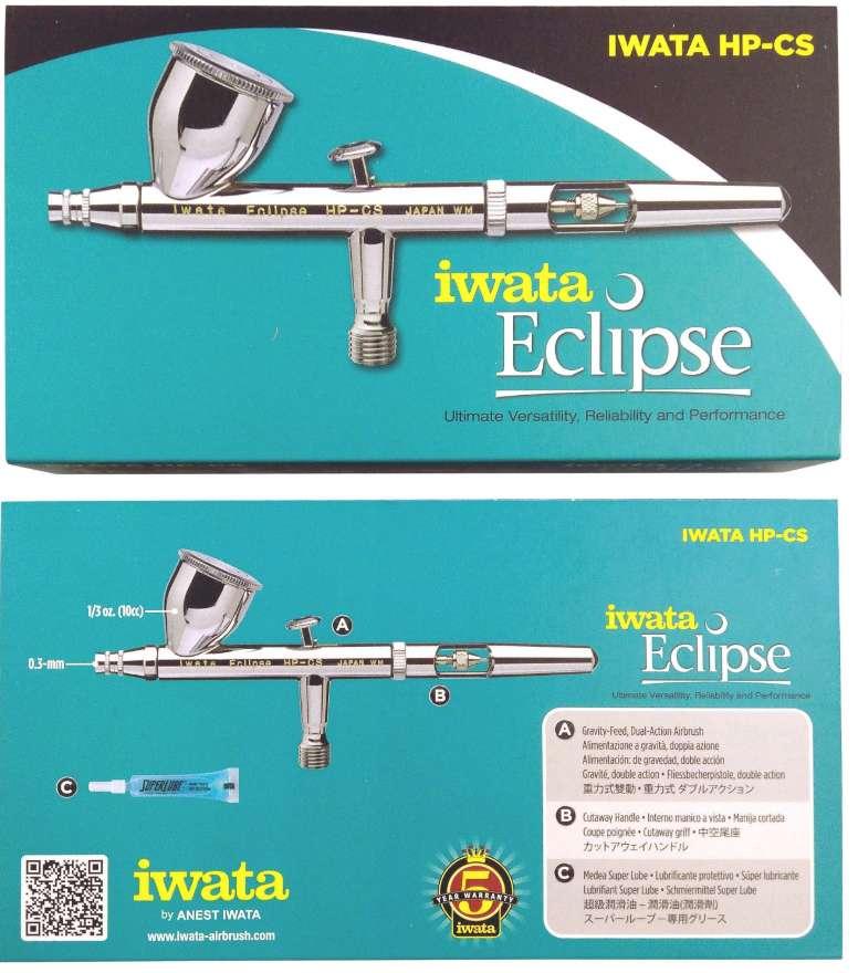 Iwata fluido de la aguja de 0,3 mm HP-C+