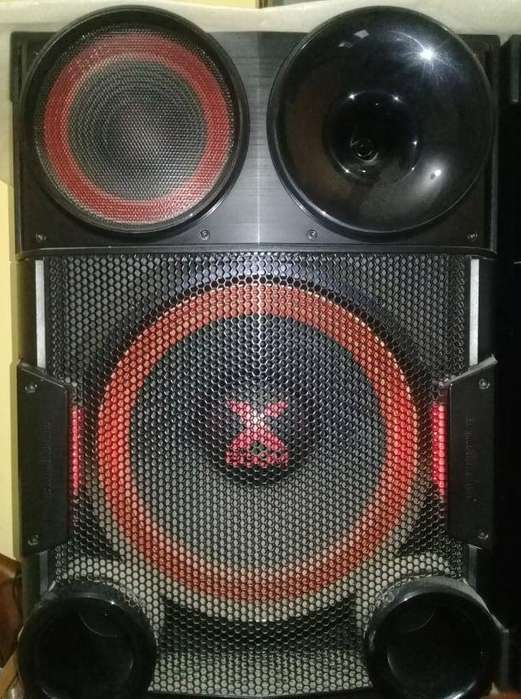Vendo como nuevo Equipo de Sonido Lg Xboom parlantes gigantes