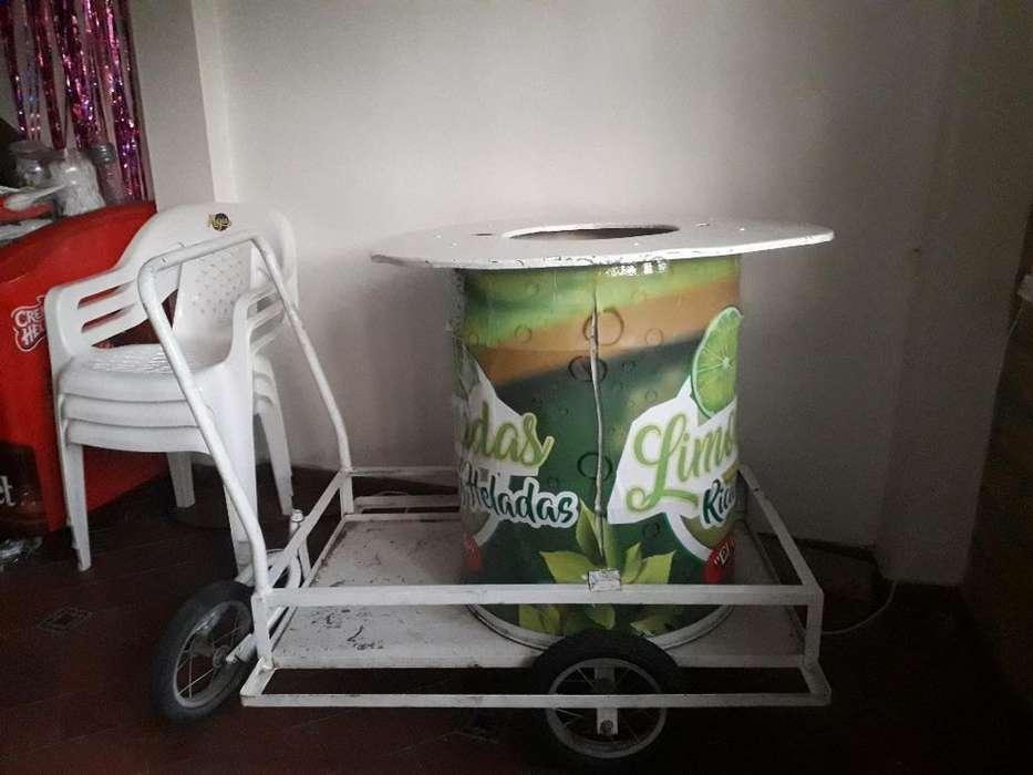 Vendo <strong>carrito</strong> de Jugo