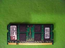 MEMORIA 1GB DDR2 KINGSTON KVR667D2S5/1G COMO NUEVA