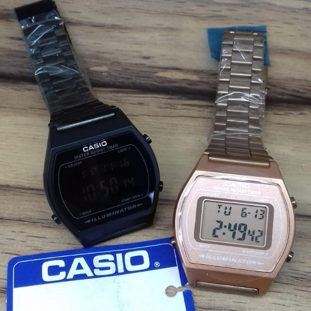 f8706bbac2aa Reloj Casio Retro Negro Y Chocolate - Cali
