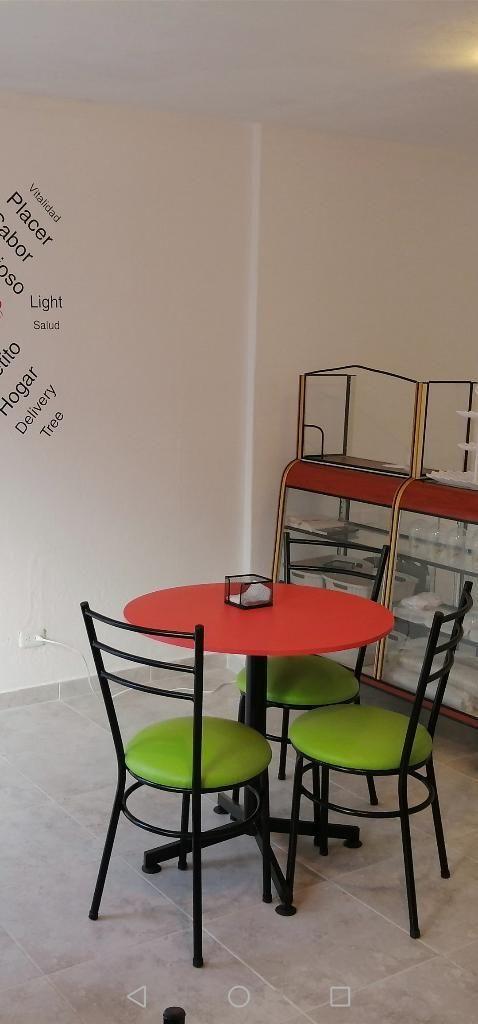 Mesas Y Sillas para Comedor, Restaurante - Quito