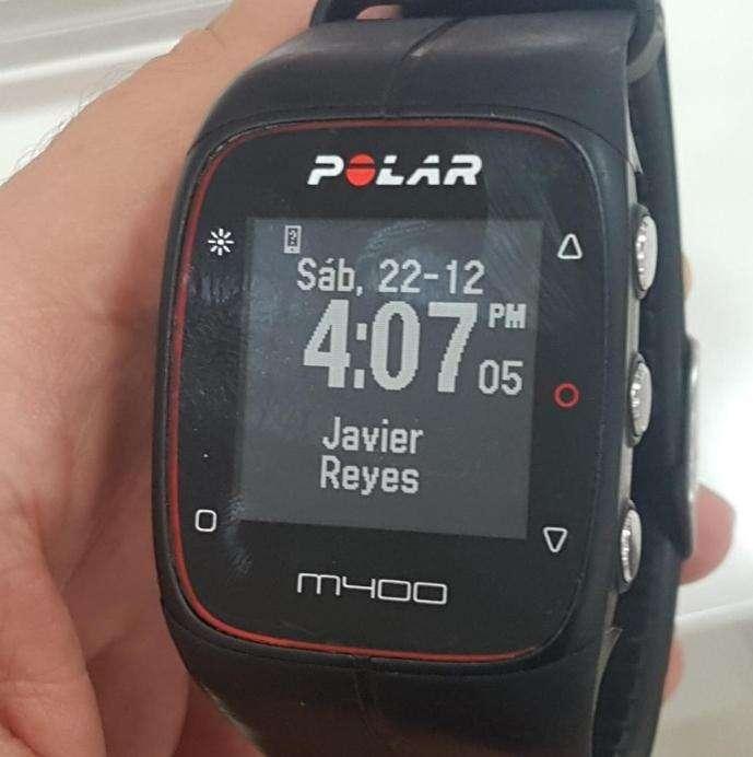 Polar M400 con Banda Cardiaca