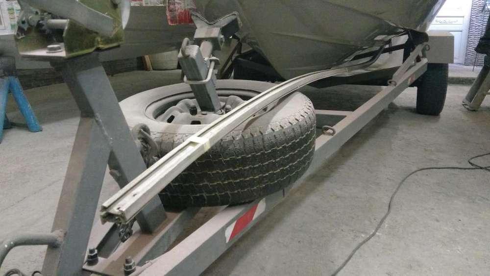 vendo porta botazo de aluminio para lancha
